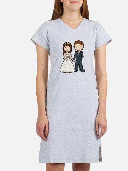 Wedding Couple Women's Nightshirt