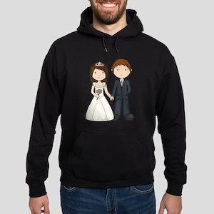 Wedding Couple Hoodie (dark)