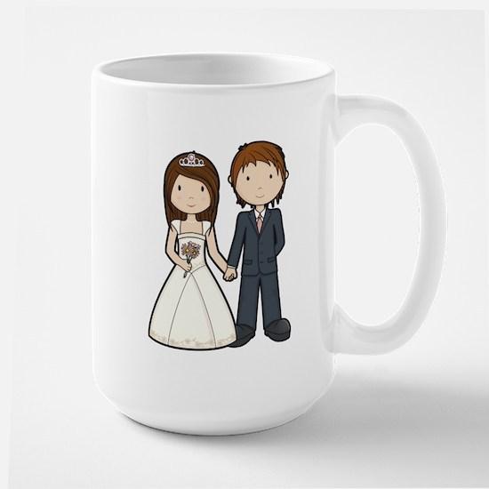 Wedding Couple Large Mug