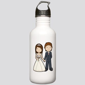 Wedding Couple Stainless Water Bottle 1.0L