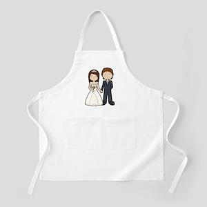 Wedding Couple Apron