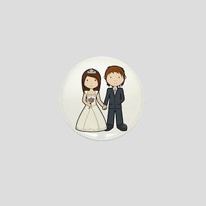 Wedding Couple Mini Button