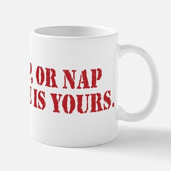Tap Snap Or Nap Ultimate Fighting Gear Mug