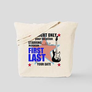 Music Poster Tote Bag