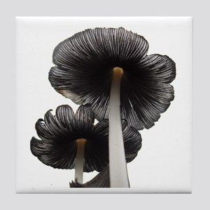 Two Mushrooms Tile Coaster