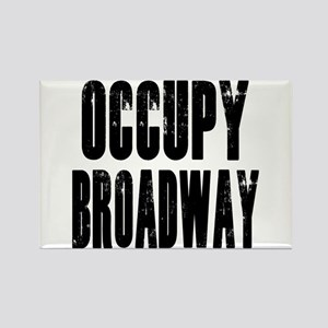 Occupy Broadway Rectangle Magnet