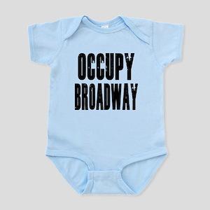 Occupy Broadway Infant Bodysuit