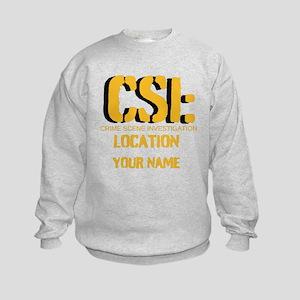 Customizable CSI Kids Sweatshirt