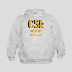 Customizable CSI Kids Hoodie