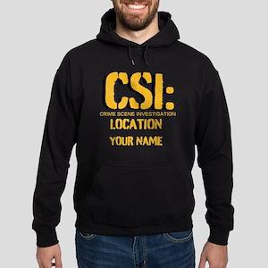 Customizable CSI Hoodie (dark)