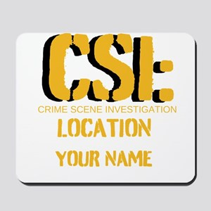Customizable CSI Mousepad