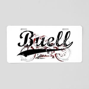 Buell Aluminum License Plate
