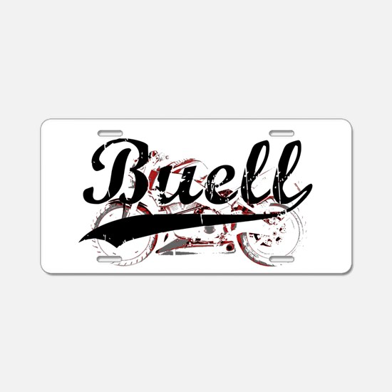 Buell Aluminum License Plate