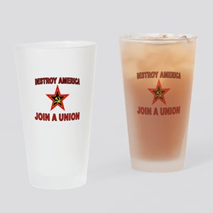 CLOSED MIND Drinking Glass