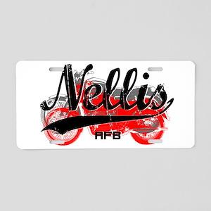 Nellis AFB Aluminum License Plate
