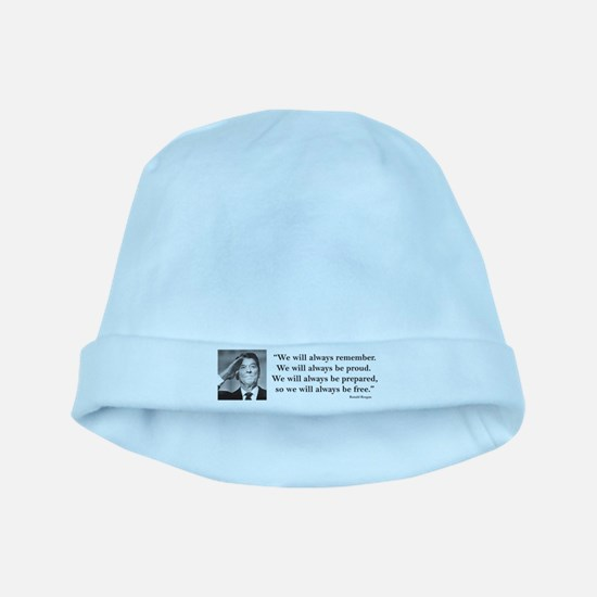 Ronal Reagan Always Be Proud baby hat