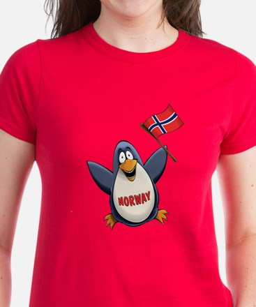 Norway Penguin Women's Dark T-Shirt