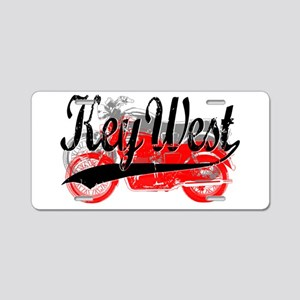 Key West Motorcycles Aluminum License Plate