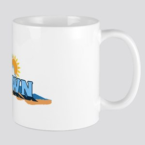 Provincetown MA - Waves Design. Mug