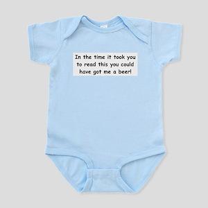 Beer gift Infant Bodysuit