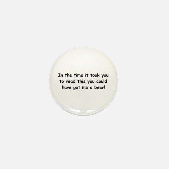 Beer gift Mini Button