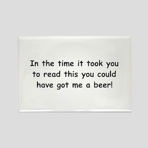 Beer gift Rectangle Magnet