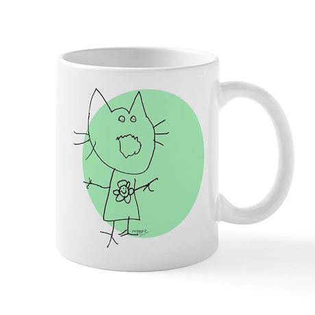 Maggie Singing Cat Mug