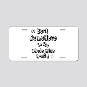 Best Blank Aluminum License Plate
