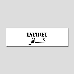 Infidel Car Magnet 10 x 3