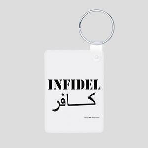 Infidel Aluminum Photo Keychain