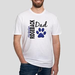 Rhodesian Ridgeback Dad 2 Fitted T-Shirt