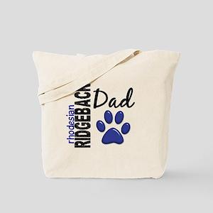 Rhodesian Ridgeback Dad 2 Tote Bag