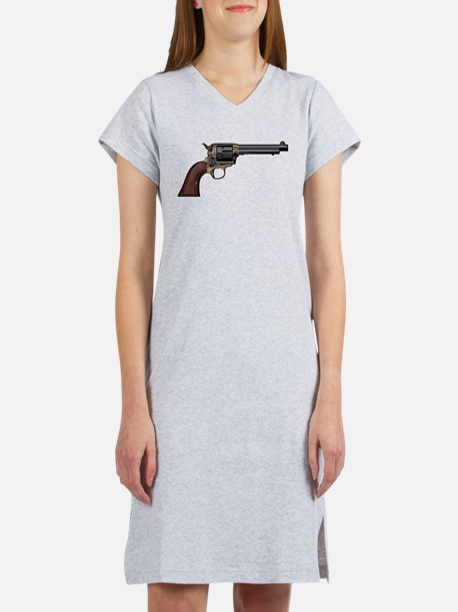 Vintage, Six Shooter Women's Nightshirt