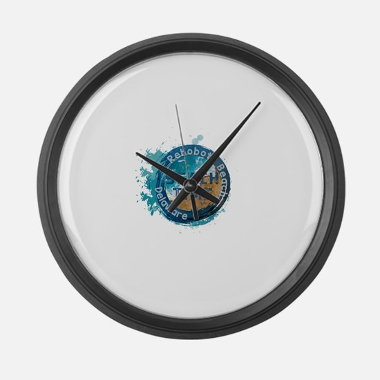 Rehoboth Beach Large Wall Clock