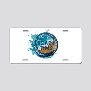 Rehoboth Beach Aluminum License Plate