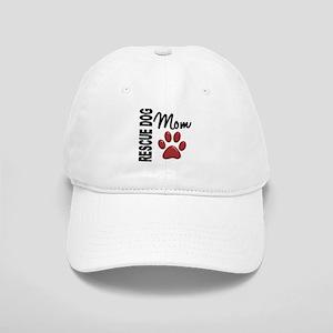 Rescue Dog Mom 2 Cap