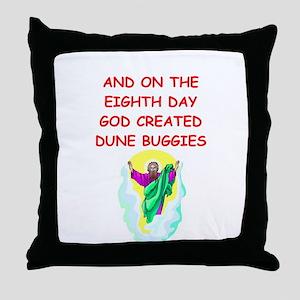 dune buggies Throw Pillow