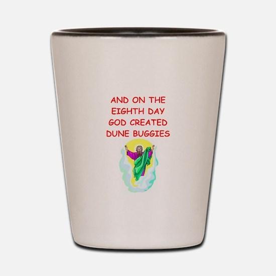 dune buggies Shot Glass