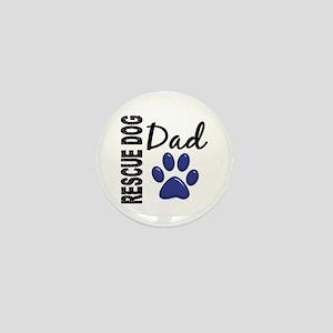 Rescue Dog Dad 2 Mini Button