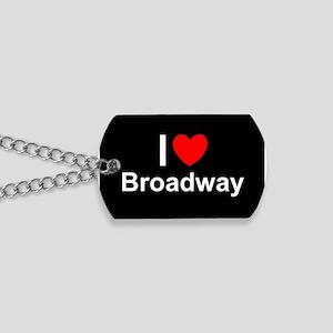 Broadway Dog Tags