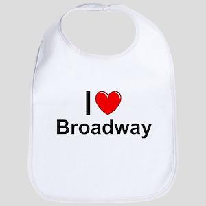 Broadway Cotton Baby Bib