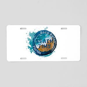 Boca Raton Aluminum License Plate