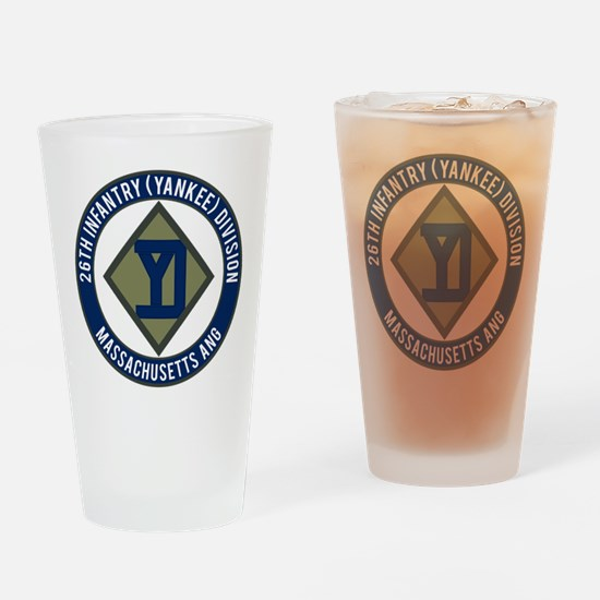 26th Infantry Mass ANG Drinking Glass