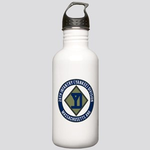 26th Infantry Mass ANG Stainless Water Bottle 1.0L