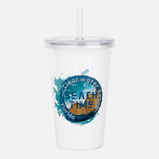 Florida - Clearwater B Acrylic Double-wall Tumbler