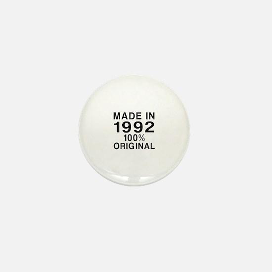 Made In 1992 Mini Button