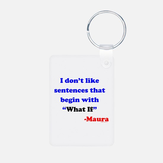 """What If"" Sentences Keychains"