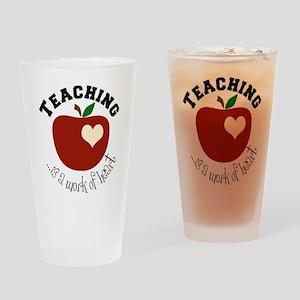 Teaching Drinking Glass