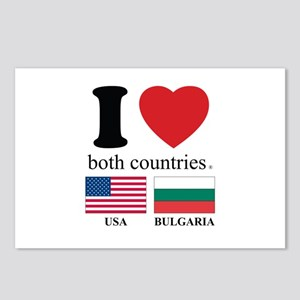 USA-BULGARIA Postcards (Package of 8)