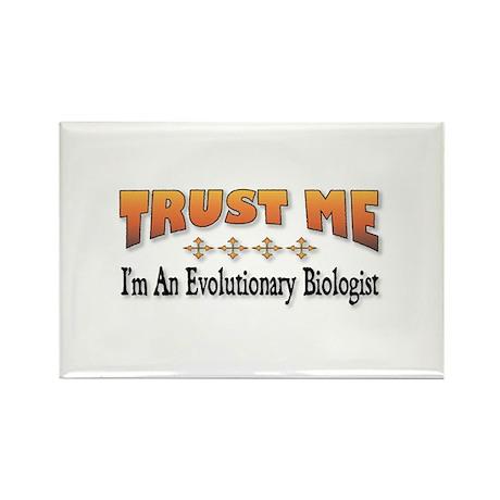 Trust Me E. Biologist Rectangle Magnet (100 pack)